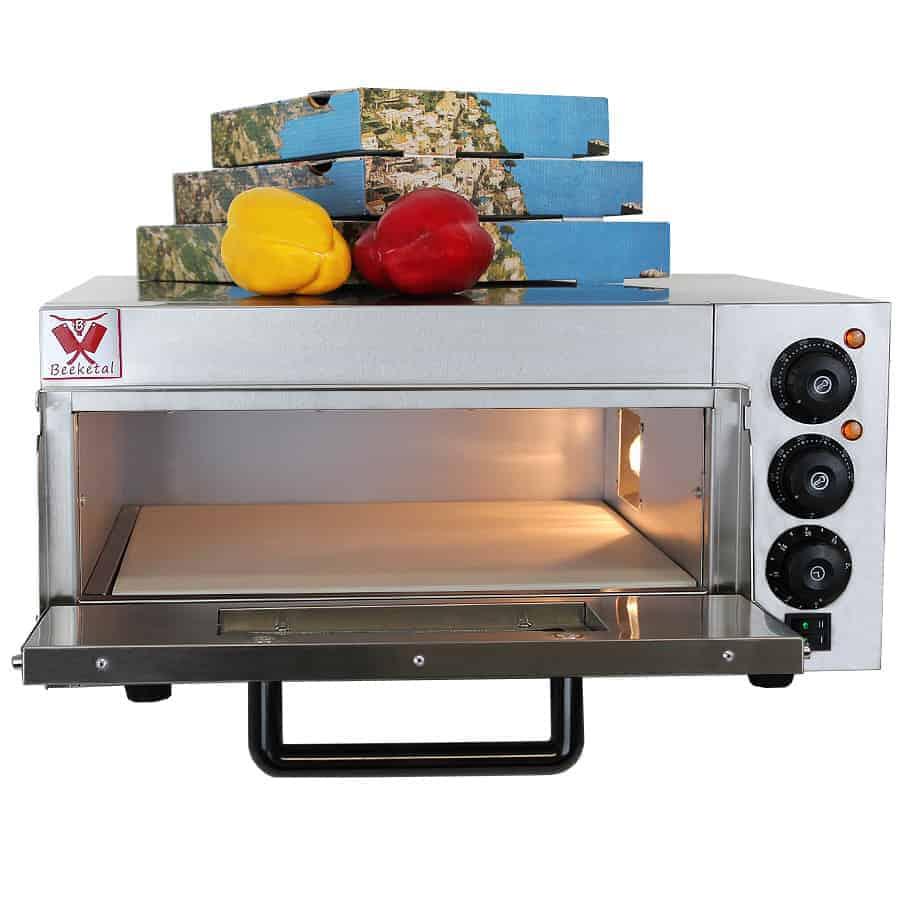Pizzaofen / Backofen elektrisch Beeketal BPO33-1 - Innen