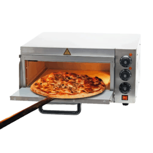Wiltec Pizzaofen 2000W - frontal